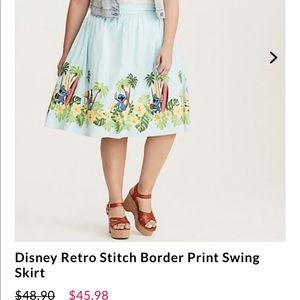 Torrid Stitch Skirt Size 16